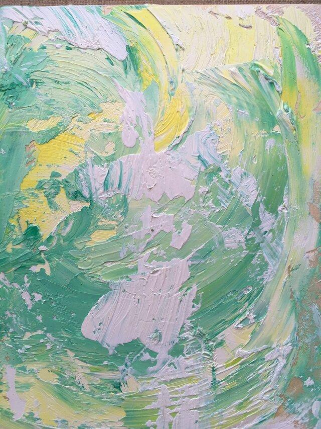 『No.1』Ten-Kei の油絵の複製プリントの画像1枚目