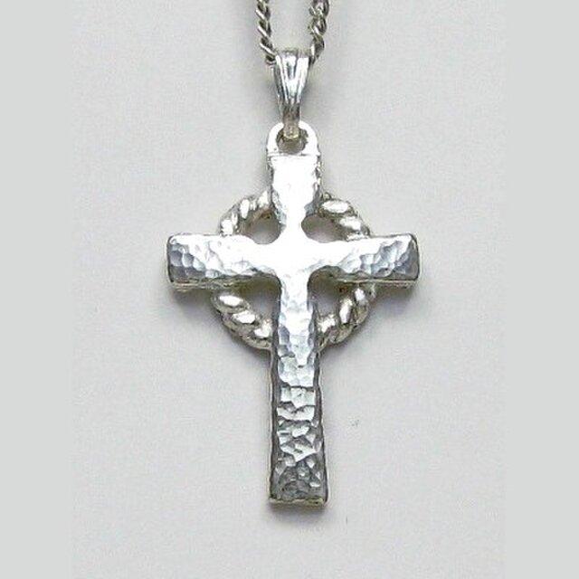 伝統的なモチーフ 小さなケルト十字架 cc22s 好評ですの画像1枚目
