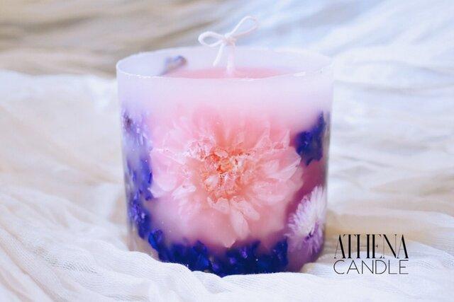 【7月限定販売】ボタニカルキャンドル ダリア 花キャンドル botanical candle dahliaの画像1枚目