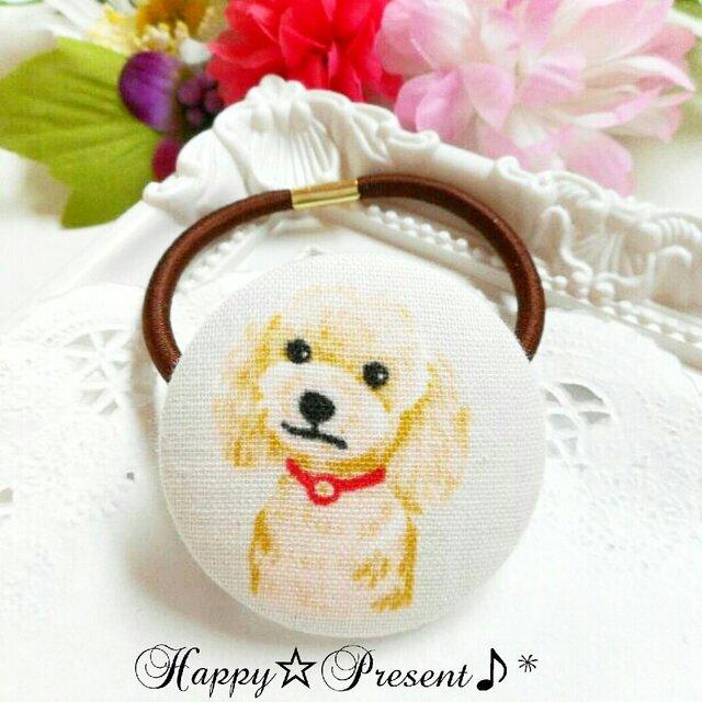 再販×7!犬の大人可愛い大きめcircleヘアゴム❤✨② 送料無料 プチプラ プチギフト ラッピングの画像1枚目