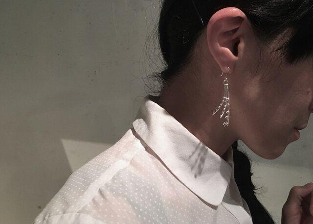 tenten to sen earringsの画像1枚目