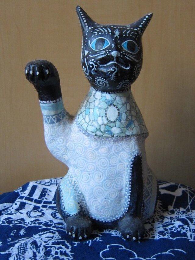 招き猫 ナスターシャの画像1枚目