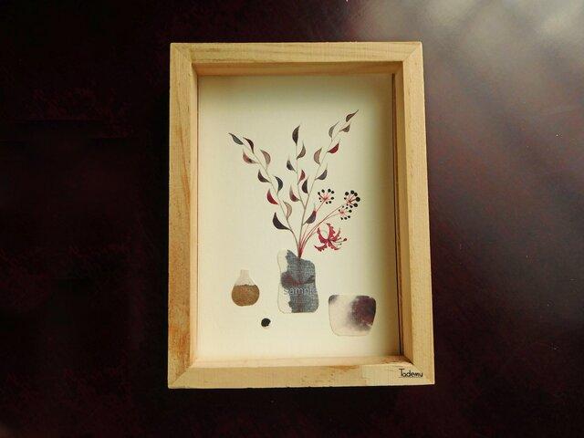 アートカード 『花器風景』の画像1枚目