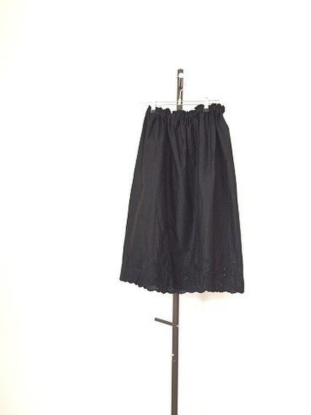 コットンスカラップのペチスカート M~Lの画像1枚目