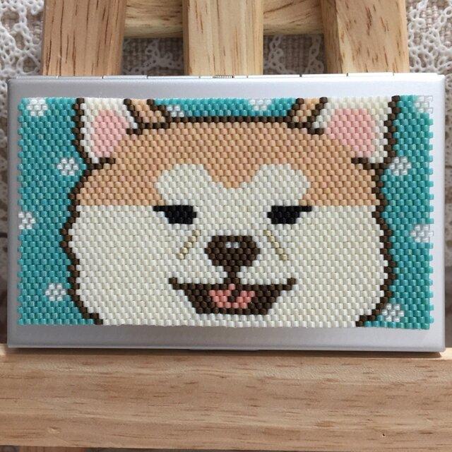 カードケース(秋田犬⑨)の画像1枚目