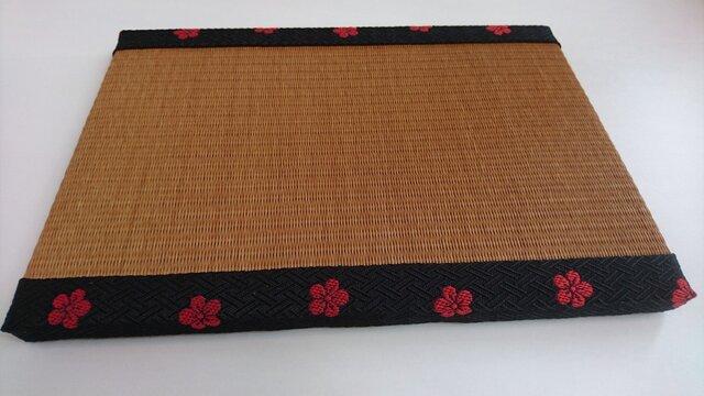 ミニ畳(オレンジ)の画像1枚目