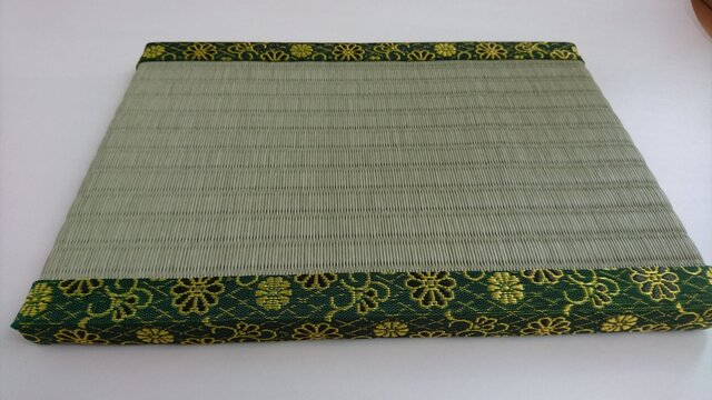 ミニ畳(緑)の画像1枚目