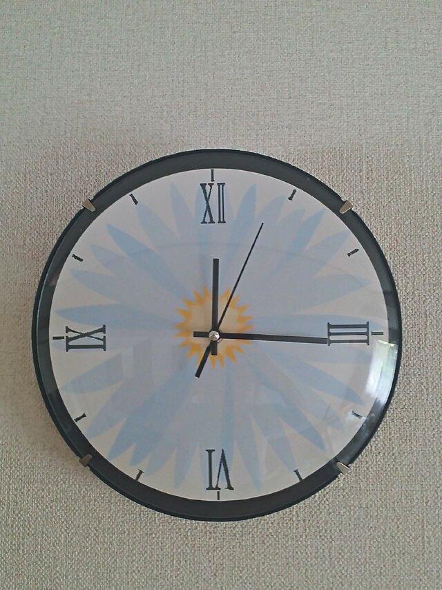 フラワー時計の画像1枚目