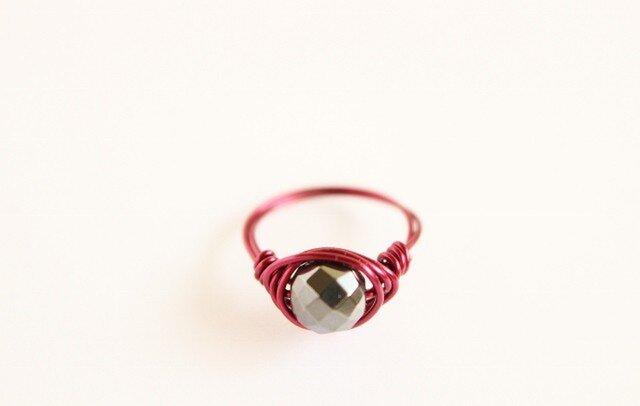 ヘマタイト Wire Ring 2の画像1枚目