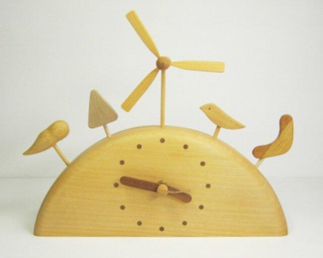 風の丘時計 置時計の画像1枚目