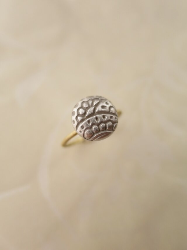 SV・ K18  HENNAマカロン Ringの画像1枚目