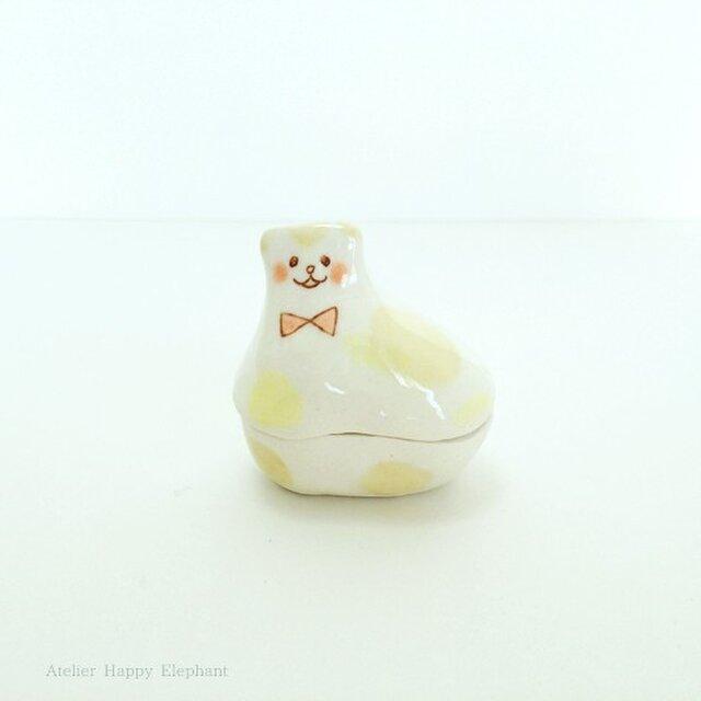 子猫のオブジェ 2(蓋物)の画像1枚目