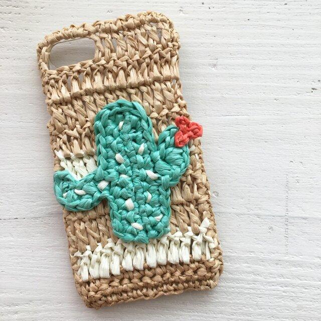 iPhoneケース/サボテン《麦わらフォン》の画像1枚目