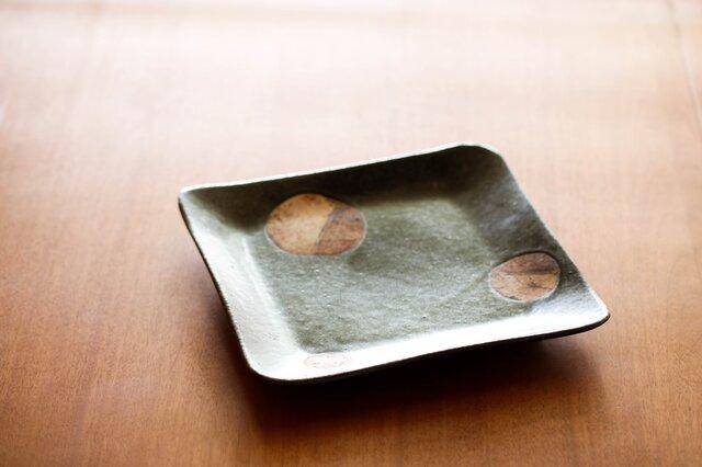 七寸角皿(planet)の画像1枚目