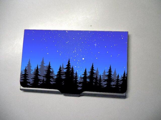 アートカードケース(名刺入れ) 森林【送料無料】の画像1枚目