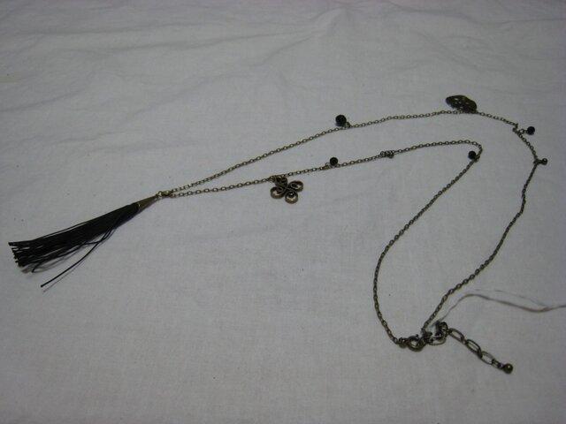 BKフリンジTOPのネックレスの画像1枚目