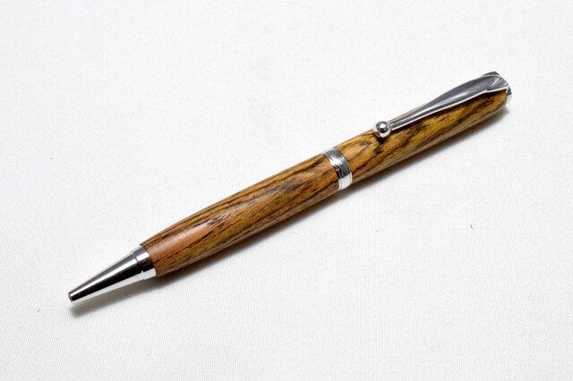 [再出品]【ボコテ】手作り木製ボールペン スリムライン CROSS替芯の画像1枚目