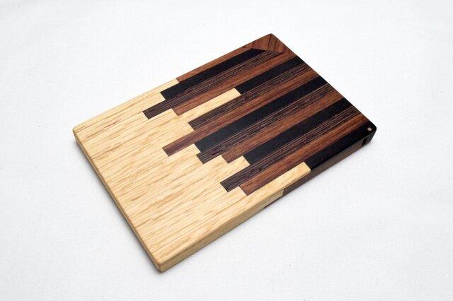 【寄木】木製名刺入れ/カードケースの画像1枚目