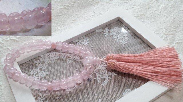 桜色~お数珠(とんぼ玉)~限定品の画像1枚目