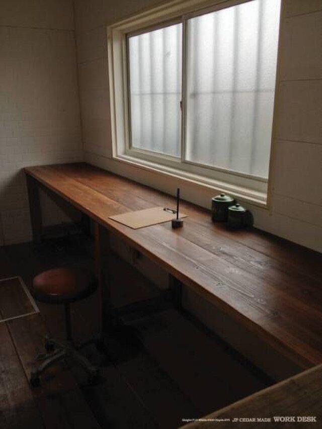 数量限定 WD-170 ワークテーブル 机 テーブル ワークデスク カウンター 作業台  パソコン机 勉強机の画像1枚目