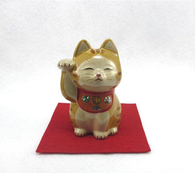 ちゃとら招き猫の画像1枚目