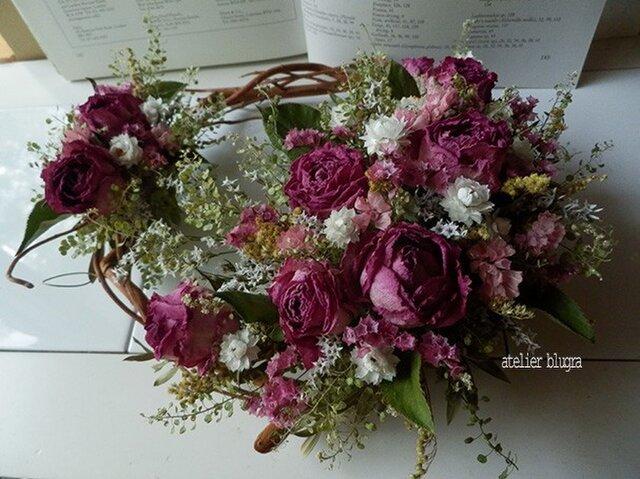 八ヶ岳〜(新作)薔薇のWreath Ver.1の画像1枚目