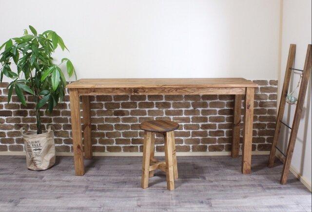 木のぬくもりを感じる ワークデスク (135㎝) デスク 作業台 テーブル 長机 の画像1枚目