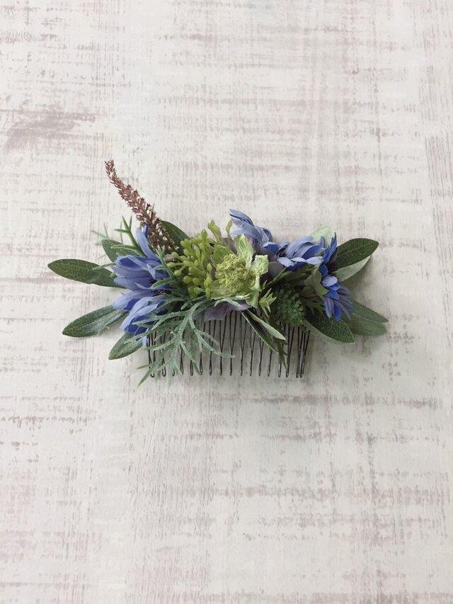 ボタニカル ヘアコーム (blue daisy)の画像1枚目