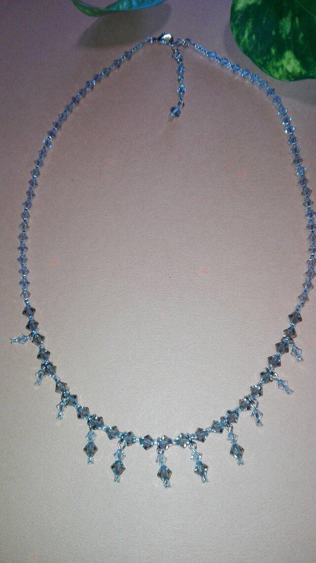 スワロの煌めきのネックレスの画像1枚目