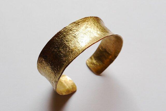 再販★Simple brass bangle(幅20mm*25mm)★シンプル★真鍮★バングル★の画像1枚目