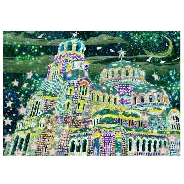 きらきら星教会【A3サイズ】の画像1枚目