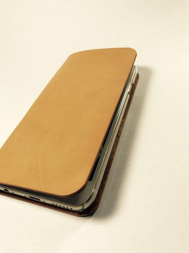 革のiphone 4.7インチ用 sweet(左利き用変更可)の画像1枚目