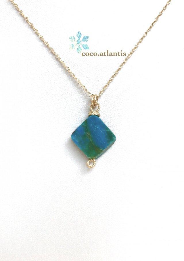 14kgf*blue opal〜追憶の青色より**の画像1枚目