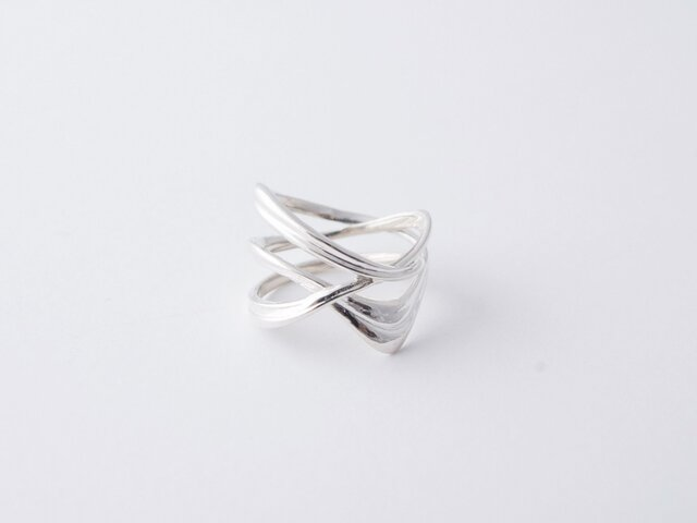 Milkyway Ring Silver ミルキーウエイリング シルバー サイズ8号の画像1枚目
