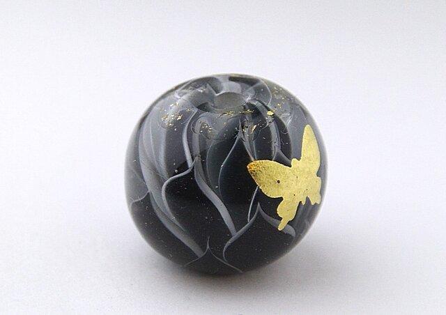 蓮と蝶 -漆黒-の画像1枚目