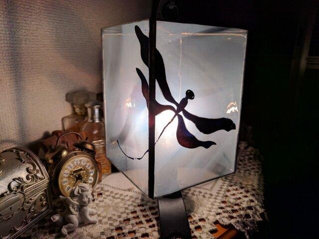 ステンドグラス~とんぼのランプの画像1枚目