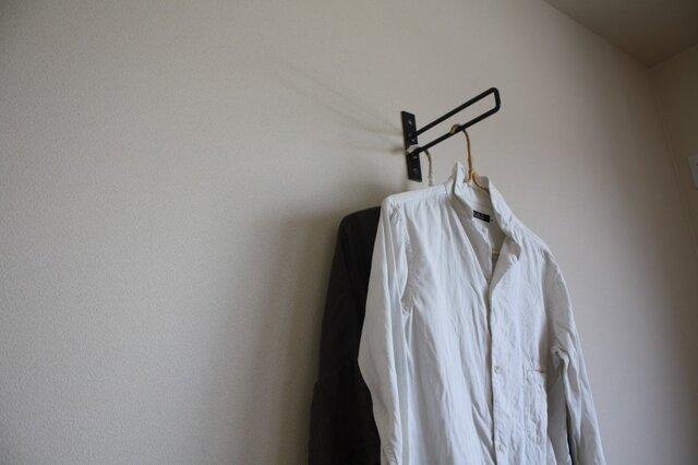 ちょい掛け / 壁掛け ハンガーラック | 傘立て | 棚受けの画像1枚目