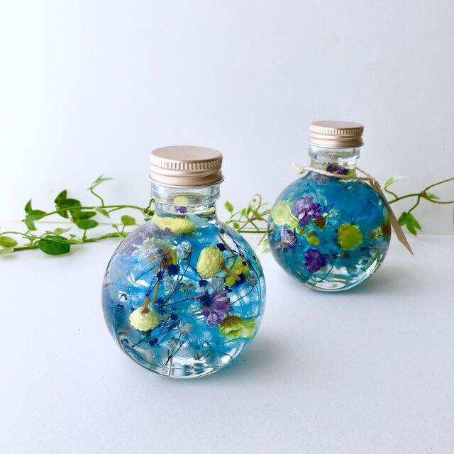 プレゼントに♡ミニボトル♡ハーバリウム【herbarium】の画像1枚目