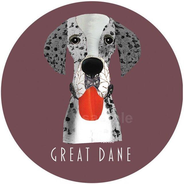 グレートデン/ブルーマール《犬種名ステッカー/大型犬》の画像1枚目