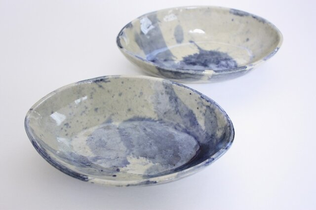 空花オバール鉢の画像1枚目