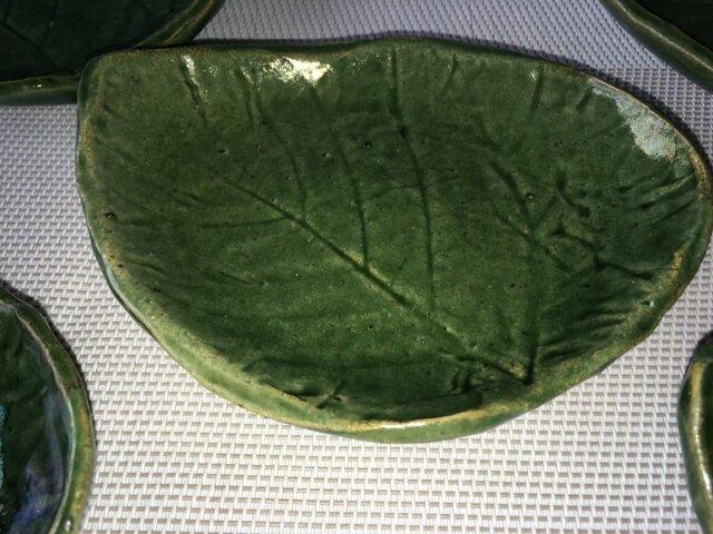 葉っぱ小皿の画像1枚目