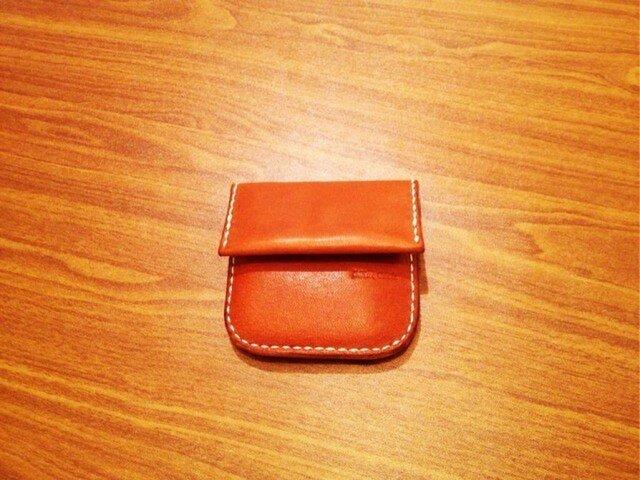 栃木レザーのコインケース。の画像1枚目
