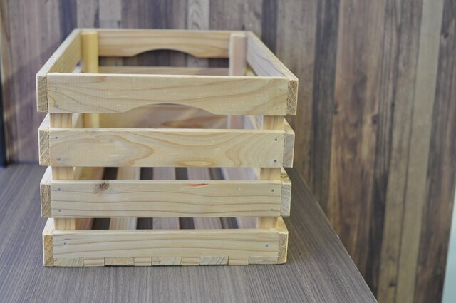 総手作り仕上げの木製ラック(大)の画像1枚目