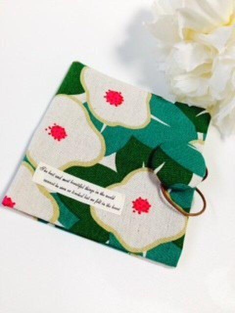 携帯用BOXティッシュケース 和花柄の画像1枚目