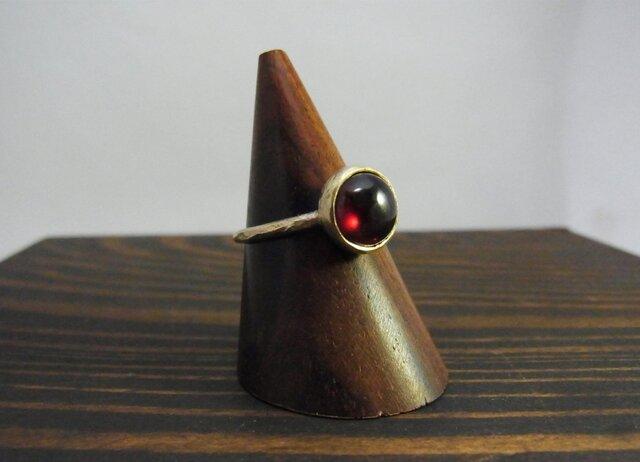 stone ring K10の画像1枚目
