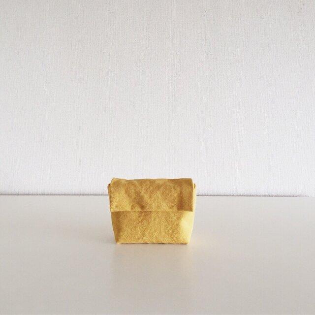 きちんとポーチ S / mustardの画像1枚目