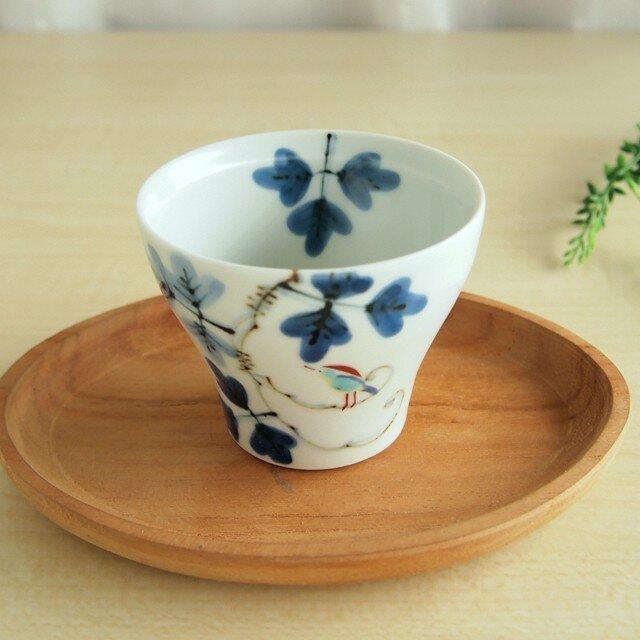 錦鳥とシダ模様 新煎茶の画像1枚目