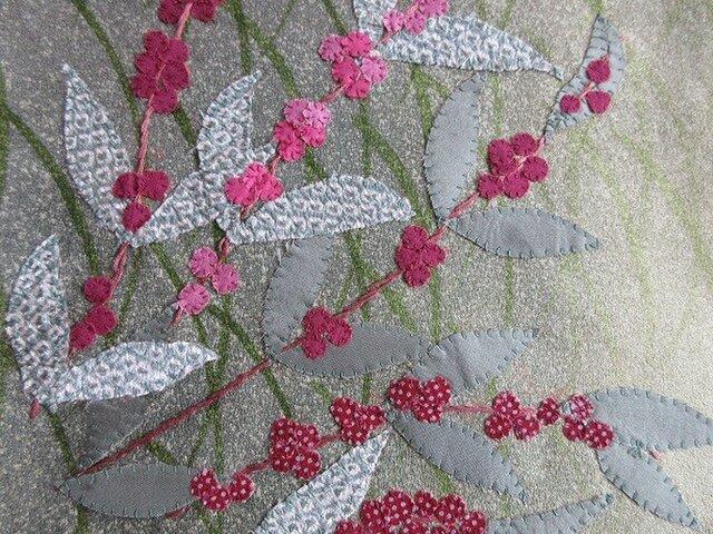 和布絵 ~紫式部と柊南天~の画像1枚目