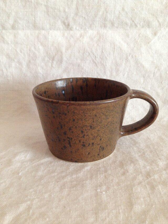 マグカップ(鉄釉)の画像1枚目