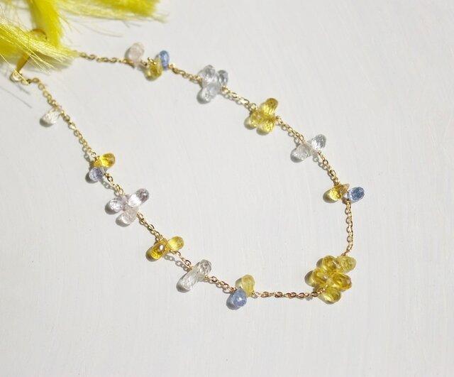 K18 Yellowsapphire*Braceletの画像1枚目